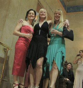 glamorous girls ball at the hall 2004